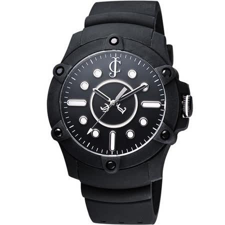 Juicy Couture Surfside 俏皮小姐時尚腕錶-黑/42mm J1900905