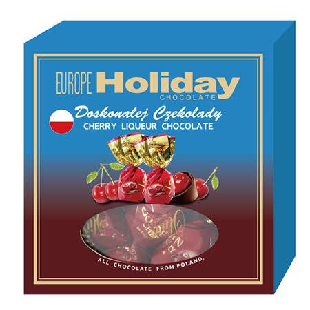 波蘭Colian 櫻桃酒心巧克力禮盒110g