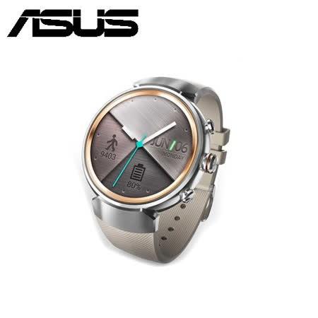 ASUS ZenWatch 3 義大利皮革時尚智慧型手錶-象牙白