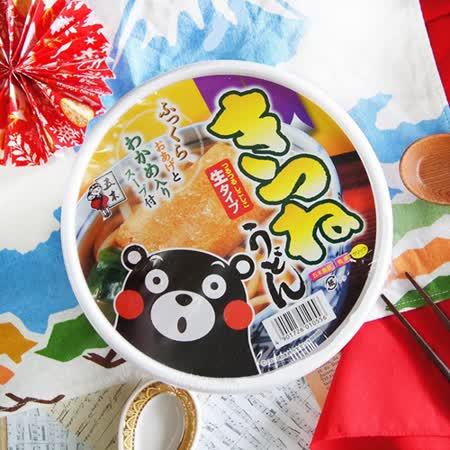 【五木】熊本熊生烏龍碗麵-豆皮