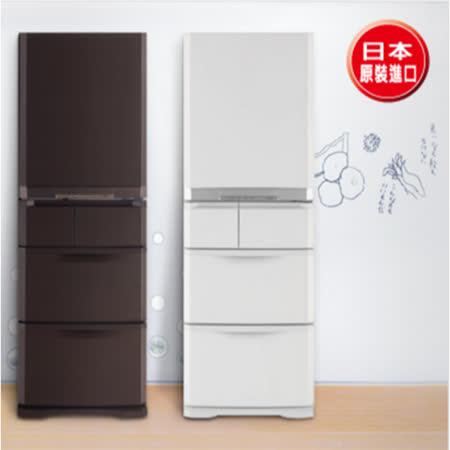 │MITSUBISHI│三菱 420L五門 變頻電冰箱 MR-B42T