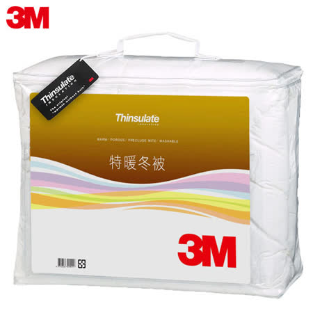 3M Thinsulate可水洗特暖冬被Z500 標準雙人(6x7)