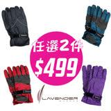 Lavender防風防水手套 任選兩件組合套裝