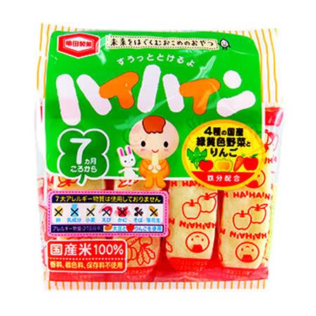 日本龜田 蔬菜米果53g