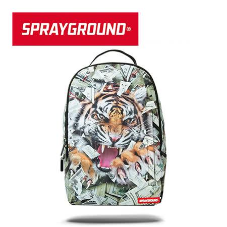 【SPRAYGROUND】DLX 系列 Tiger Money 金錢虎潮流筆電後背包