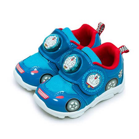 【小童】哆啦A夢 DORAEMON 閃燈運動慢跑鞋 台灣製造 藍紅黃 60716
