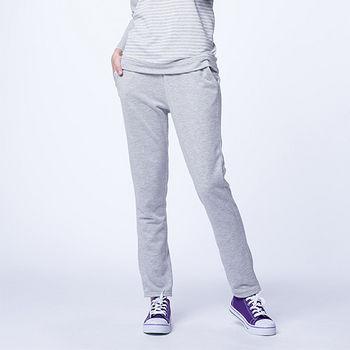 細絨縮口褲-淺灰色(M~XL)