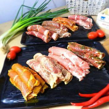 好神 主廚特調八+醬彩色烤肉組4盒組 (4種口味各1盒)