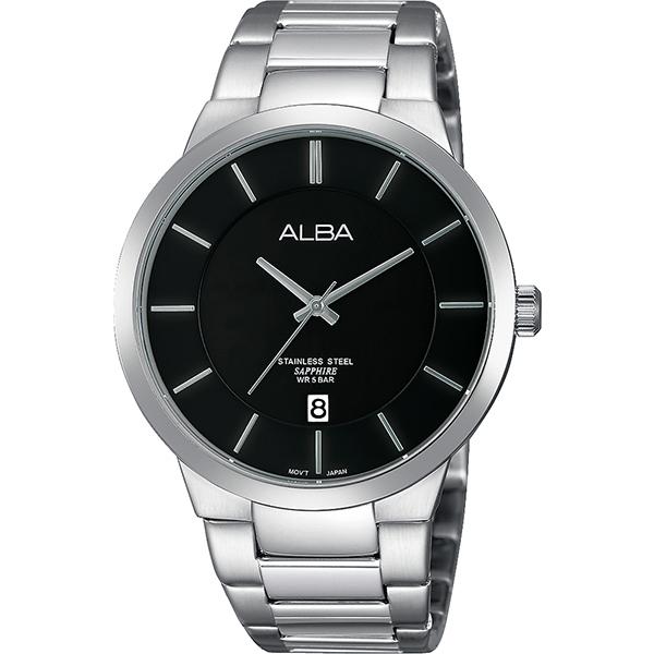 ALBA PRESTIGE 日系純粹 腕錶~黑x銀40mm VJ42~X138D^(AS9