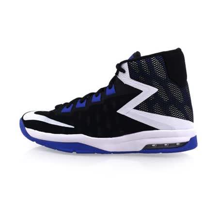 (女) NIKE AIR DEVOSION-GS 高筒籃球鞋 黑藍白