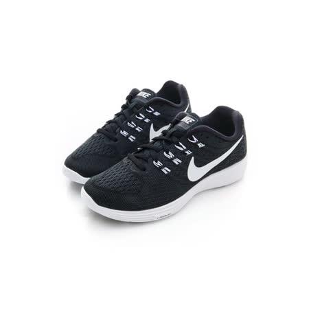 NIKE (女) 慢跑鞋 黑白 818098002