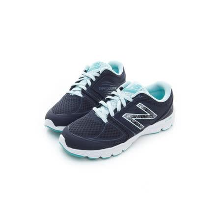 New Balance (女) 慢跑鞋 藍白黑 W575RF2
