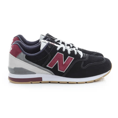 New Balance (男女) 復古慢跑鞋 黑紫 MRL996ND