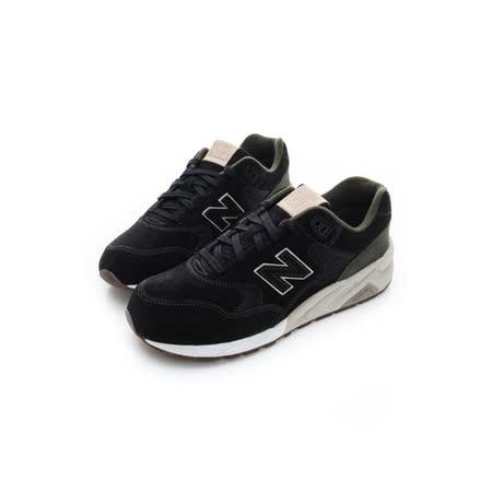 New Balance (男) 經典復古鞋 黑綠 MRT580MR