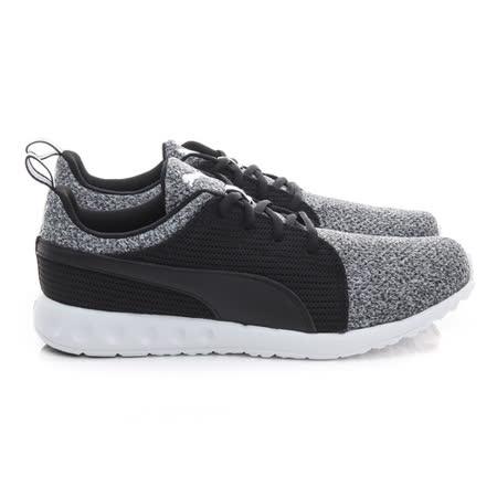 PUMA (男) 慢跑鞋 灰黑 18902603