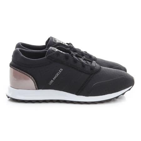 Adidas (女) 慢跑鞋 黑玫瑰金 S79764