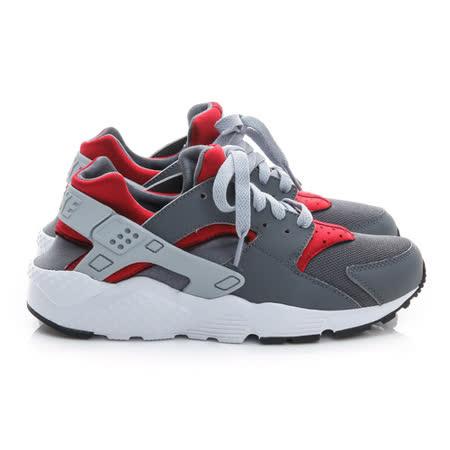 NIKE (大童) 慢跑鞋 灰紅白 654275018