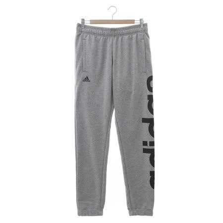 Adidas (男) 運動長褲 灰黑 AK1567
