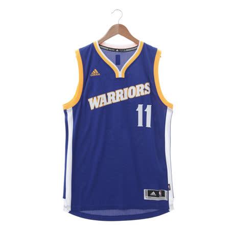 Adidas (男) 籃球背心 藍白 BF0117