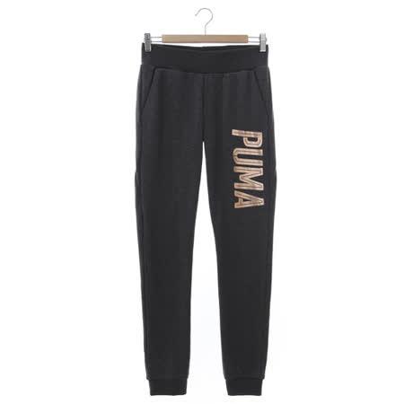 PUMA (女) 運動棉長褲(薄) 灰玫瑰金 59043807