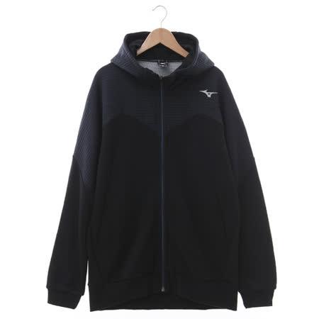 MIZUNO (男) 針織運動套裝 黑灰 32MC666109