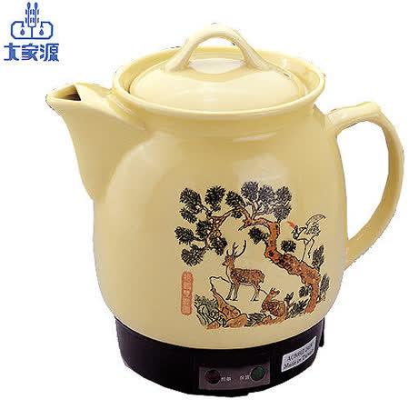 【大家源】3.5L陶瓷藥膳壺 TCY-323