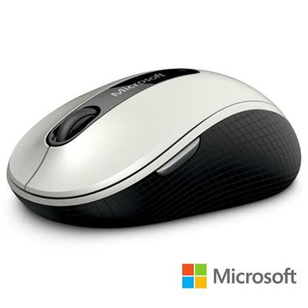 微軟 無線行動滑鼠 4000 - 白 盒裝