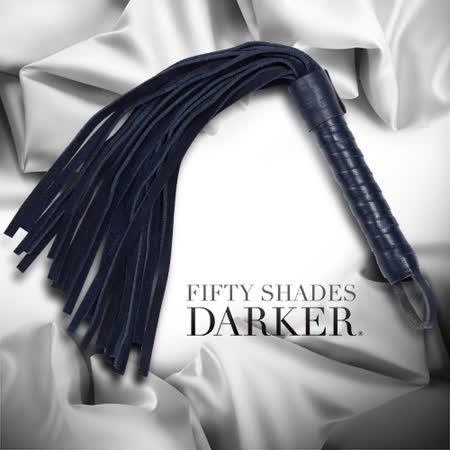 Fifty Shades Darker 格雷的五十道陰影2-束縛 無禁的愛 麂皮手工編織 小型皮鞭