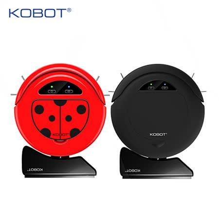 【美國KOBOT】智慧型自動回充及二次清掃設計掃地機器人-M158「贈」手持吸塵器乙台