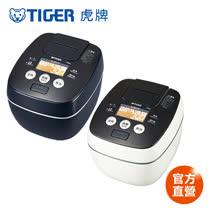 【TIGER 虎牌】日本製10人份可變式雙重壓力IH炊飯電子鍋(JPB-G18R)買就送8.25L五段式大容量電烤箱(KAE-H13R)