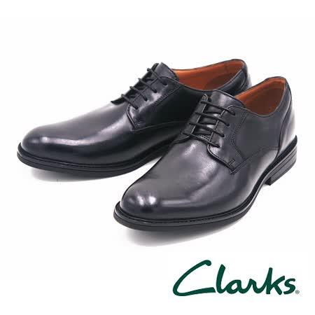 Clarks 紳士正裝尖頭男皮鞋 男鞋-黑
