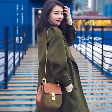 【韓國KW】明星款時尚優雅毛呢大衣