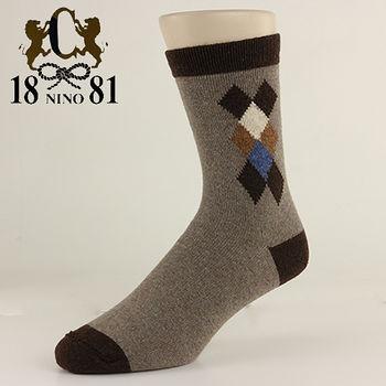 1881 小菱格兔羊毛襪(24~26cm)