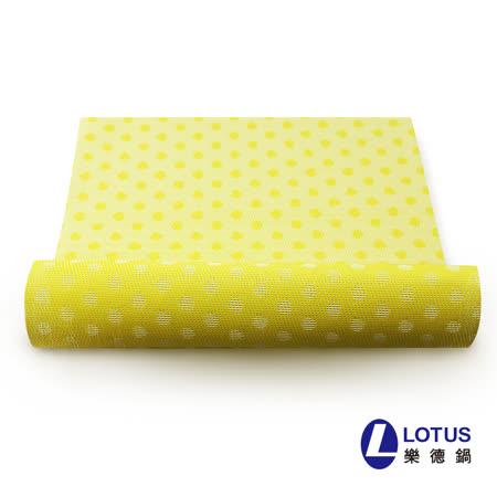 【LOTUS樂德】時尚系列-金色圓點餐桌墊(2入)