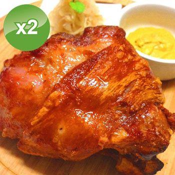 實驗廚房 巨無霸多肉德國豬腳-2入組 (800g/入)