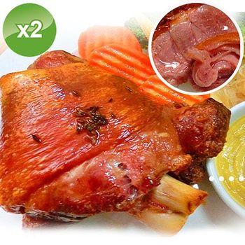 實驗廚房 德國去骨豬腳切片-2入組 (580g/入)