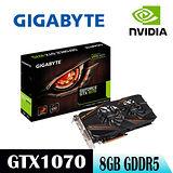 GIGABYTE技嘉 GV-N1070WF2OC-8GD顯示卡