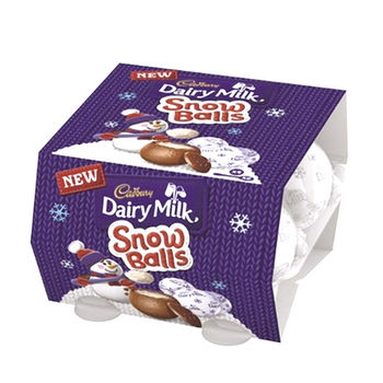 CADBURY SNOW BALLS 巧克力112g
