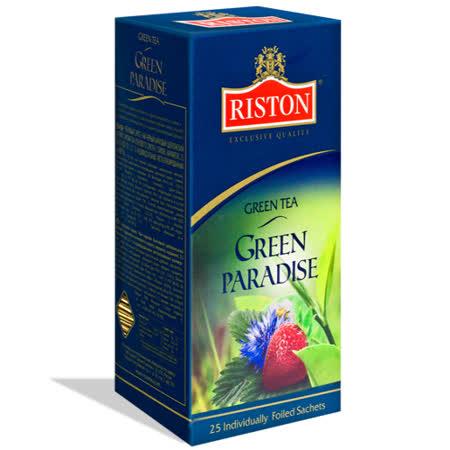 瑞斯頓Riston 樂園花香綠茶1.5g*25入