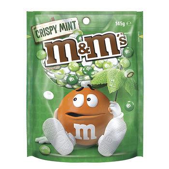 M&M'S 脆心牛奶巧克力薄荷口味145g