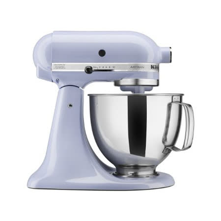 買就送桌墊【美國KitchenAid】4.73L抬頭式攪拌機 KSM150PSLR 淡紫色 KSM150