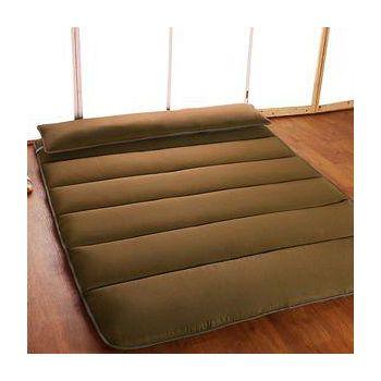HomeBeauty 恆溫多功能小樽日式床墊 單人3尺咖啡色