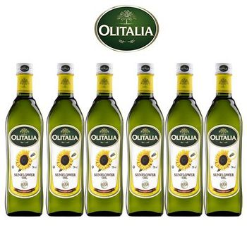 Olitalia奧利塔 超值葵花油禮盒組 750mlx6瓶