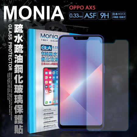 MONIA  SONY Xperia XZ 5.2吋 日本頂級疏水疏油9H鋼化玻璃膜 玻璃保護貼(非滿版)