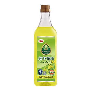 泰山健康好理由純芥花油1L