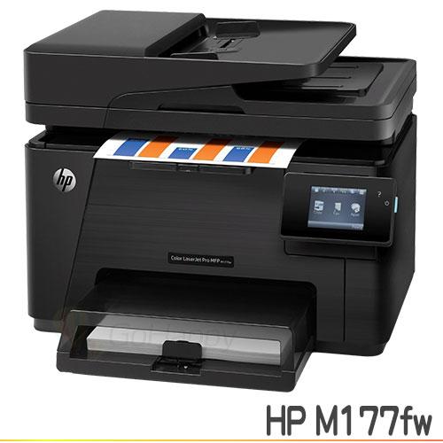 HP LaserJet Pro 100 M177fw 彩色雷射傳真複合機