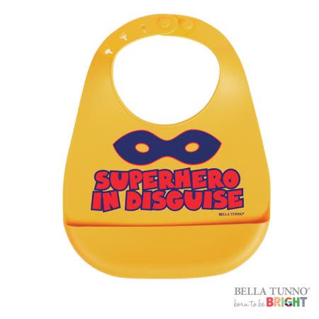 美國 Belle Tunno 寶寶矽膠圍兜兜 (超級英雄)