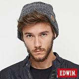 EDWIN基本款毛帽-麻灰色