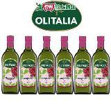 Olitalia奧利塔 超值葡萄籽油禮盒組 1000mlx6瓶