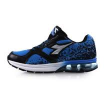 (男) DIADORA 氣墊慢跑鞋-路跑 寬楦 藍黑銀